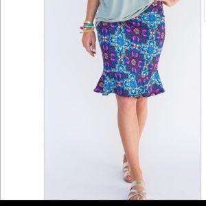 Mosaic Flounce Skirt by Agnes & Dora